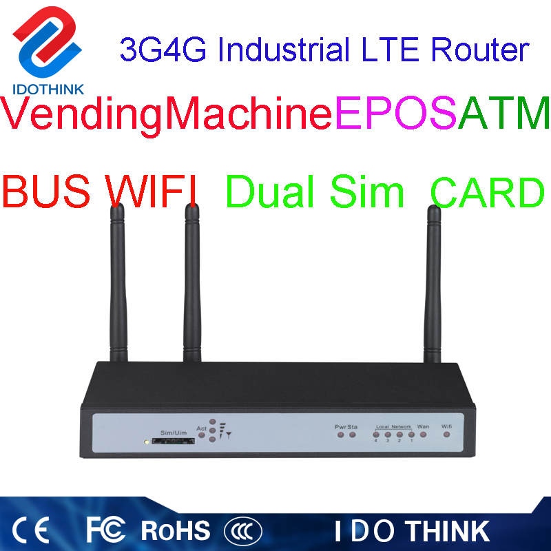 Good price router dual sim gps smartphone cellular router dual sim 4g