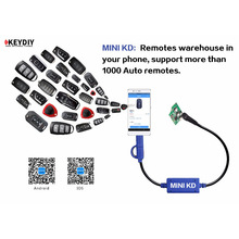 KEYDIY auto remote control maker car key programmer software copy machine locksmith tools MINI KD line unneed KD900 or URG 200