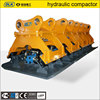 high quality hydraulic vibrating plate compactor