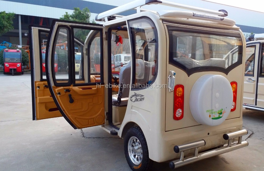 fully enclosed tricycle rickshaw/passengers battery powered tuk tuk/e auto bajaj cyclomotor/motorcycles 21000032