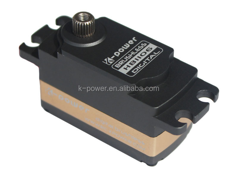 K-power HB1106 10kg torque rc servo/1 10 rc car steering servo/180 degree brushless motor