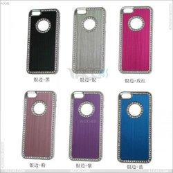 Multi colors case for iphone 5 , diamond Plating Hard Case for iPhone 5 P-IPH5PC024