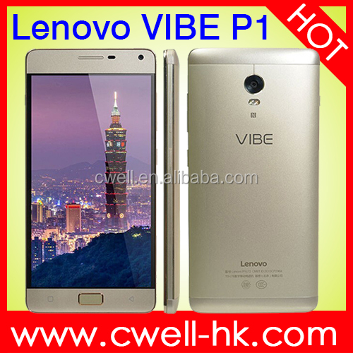 Lenovo Vibe P1 5.5 inch Qualcomm MSM8939 Octa Core 2GB RAM 16GB ROM Fingerprint Touch ID New Original Mobile Phone Made in China