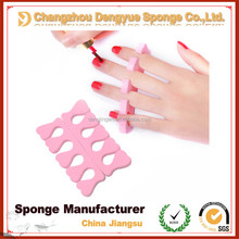 nail polish soft prevent scratching heart shape Toe Separator foam