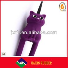 Cute cat silicone ceiling hanging decorations for christmas