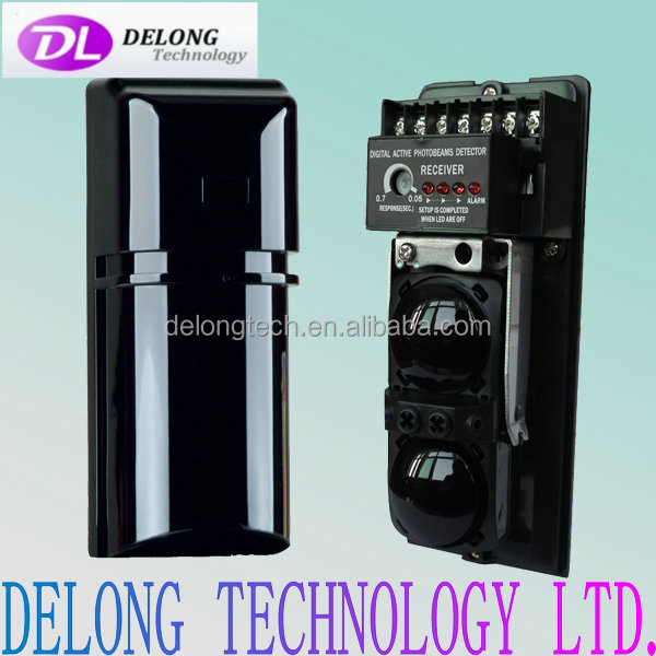 17cm height 20cm detection range 2 beams ir detector with 8 frequencies