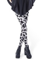 Girls Dairy Cow Pattern High Quality Leggings 3D Digital Legings China Wholesale