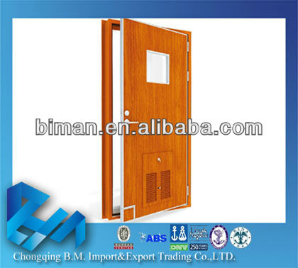 Class A60 Fire Door,1 Hour Fire Rated Door (With window, Fire Hole and Escape Louver)