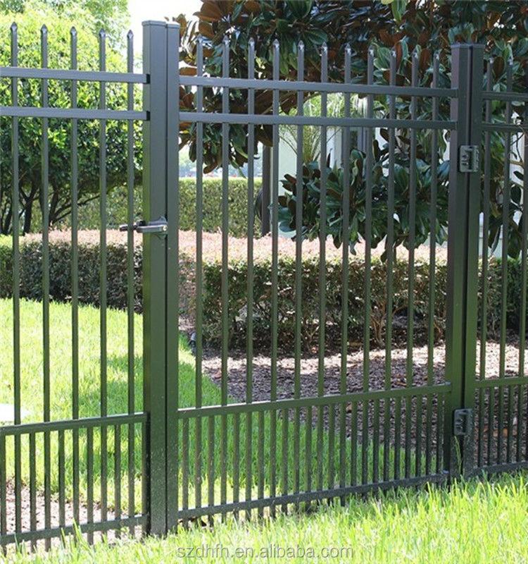 Venta al por mayor portones de hierro forjado para casas - Cercas para jardines ...