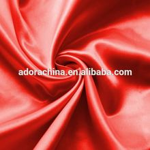 High quality polyester satin fabric taffeta lining fabrics for garment and bags
