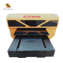 A2 large format UV mobile printer Cell Phone Case Printing Machine UV Flatbed Printer