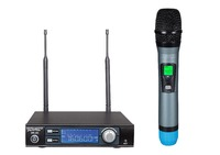 Professional UHF wireless microphone system, ture diversity, handheld microphone