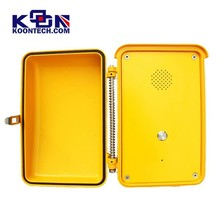 Intercom telephone one push button KNSP-04 outdoor IP66