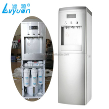 Domestic hot and cold water purifier machine with 5 stage RO filter dispenser