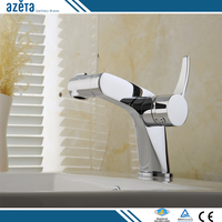 China Faucet Adjustable Brake & Clutch Single Lever Basin Mixer