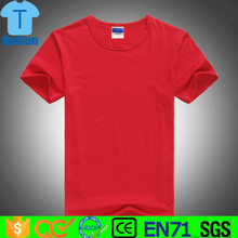 OEM t shirt mens Clothing Men's Plain Round Neck T-Shirt