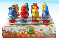 small plastic candy containers cartoon skating animalswith container SB7695TF2337