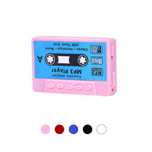 Retro CASSETTE Design Portable Mini Clip USB MP3 Player