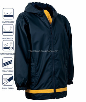 2016 Waterproof Polyester Foldable Rain Jacket, View foldable rain ...