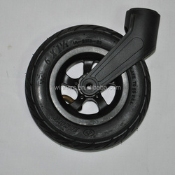 6 inch pneumatic caster wheel for trolley