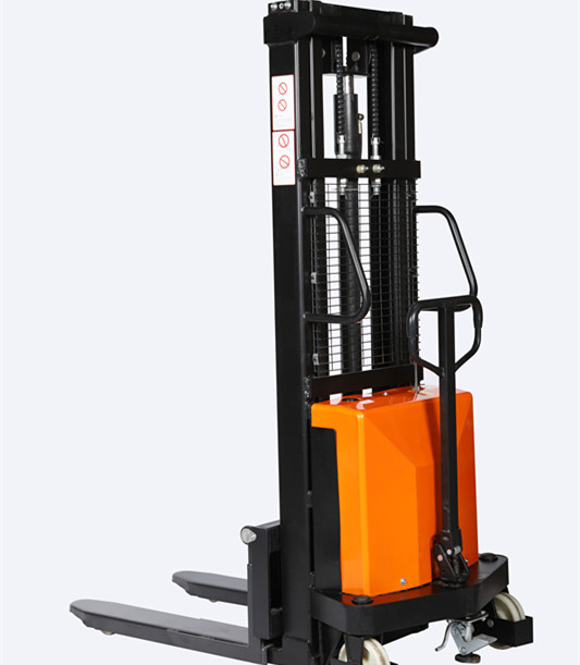 1.5 ton 2 m hydraulic semi electric pallet stacker 1500kgs