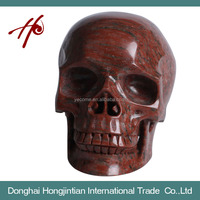 HJT-SK-5 New Product Natural Crystal Skull Made in China High Quality