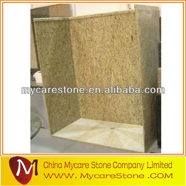 Yellow granite Tub Surrounds for bathroom