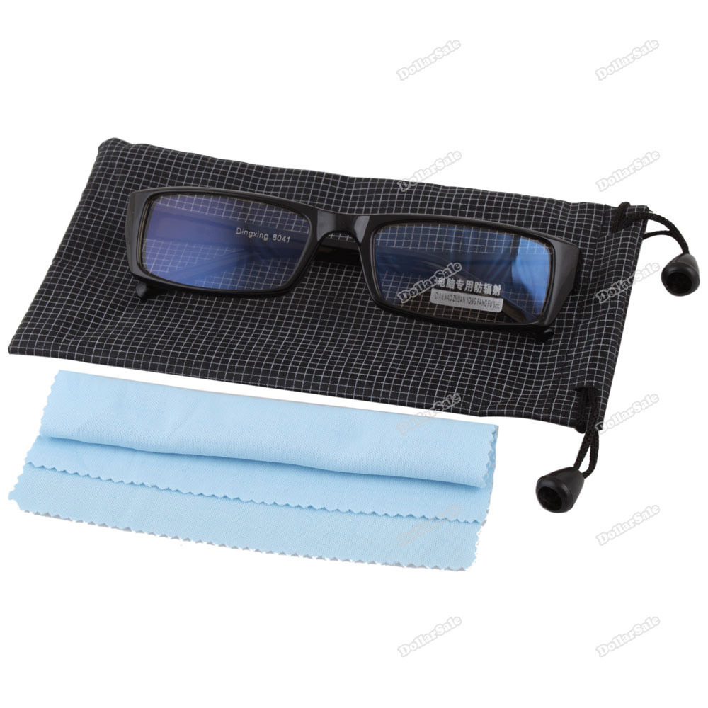 Classical! dollarsale Computer TV Radiation Protection Glasses w  Pouch #1 Worldwide free shipping Lower price