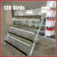 New Fashion Poultry Battery Layer Cages For Nigeriam Farm Chicken Wire Animal Cages