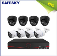 8CH cheap cost AHD high quality security analog system package cctv camera kits