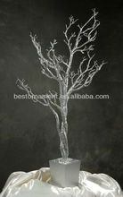 Artificial Gold Wedding Trees Centerpiece