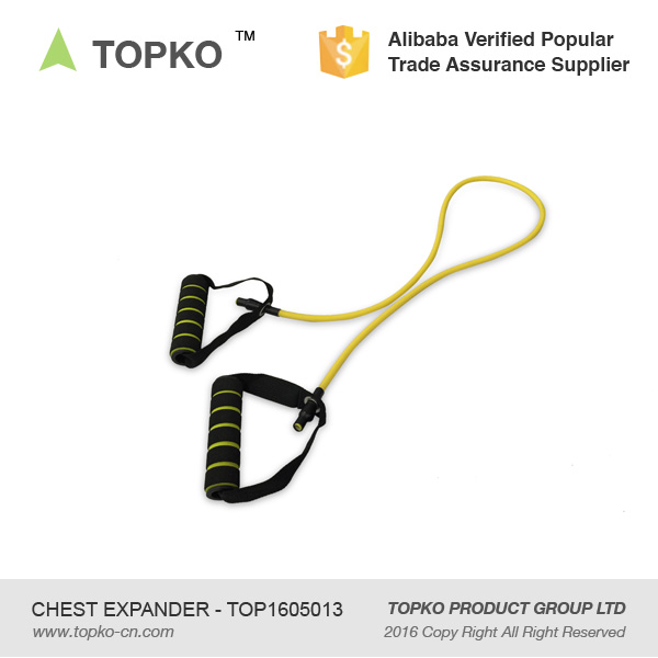 TOPKO Wholesale Fitness Training Latex Resistance Bands Exercise Tubes