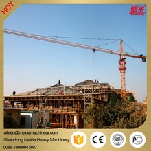 China Crane Manufacturer QTZ6010 60m jib length 50m free standing height Tower Crane