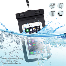 Wholesale Cell Mobile Phone Bags Cases Cover Cheap Clear Universal Waterproof Phone Case