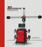 HD camera and the better stability 3d wheel alignment machine