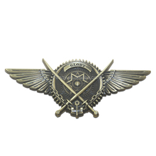 Custom Logo Metal Pilot Wings Pin Badge