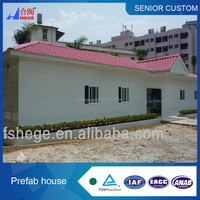 prefab house,prefabricated housing, small resort, simple villa