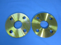 galvanized Yellow zince slip on flange