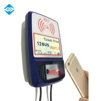 Q6 Android Safety School Bus RFID Card Validator with bluetooth to connect portable ticket printer