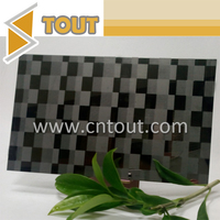 PVD Coated 201 Etched Decorative Stainless Steel Color Panel