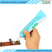 Neutral OEM Solar Cell Panel Clear White Waterproof Thermal Conductive Silicone Sealant