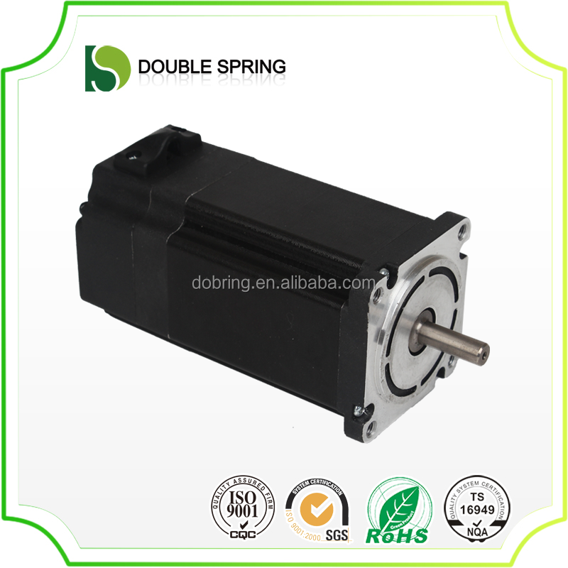 close loop low voltage 1500w 48vdc brushless worm gear servo motor