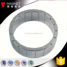 Rare Earth Magnet/ Arc Magnet used for rotor motor