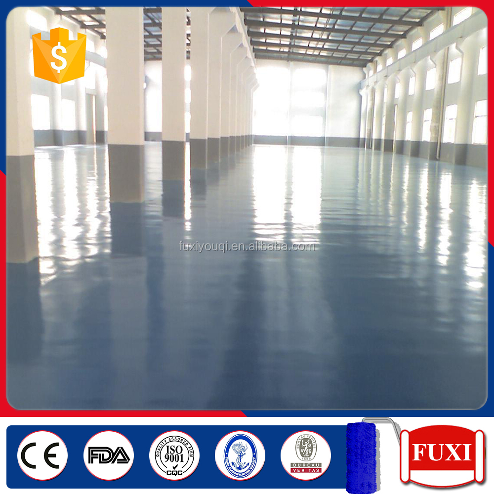 Solvent Static-free Self-leveling epoxy floor paint for floor