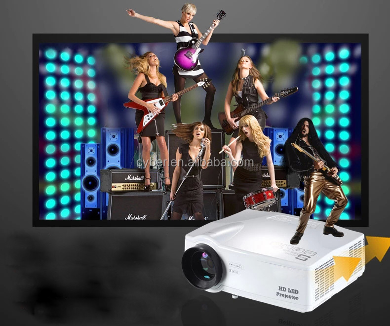 2016 hot selling HD LED Projector T986