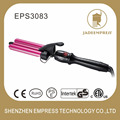 Digital deep wave hair style use triple barrel curling iron with LCD display EPS3083