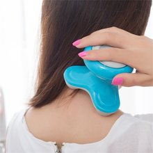 Electric Full Body Neck Relax Massager Mini Massage Portable Pain Relief Relaxing Vibration Back Whole Body Relaxation