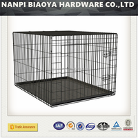 Best-selling cheap Large Size Iron dog cages ,china factory metal dog cage folding pet cage