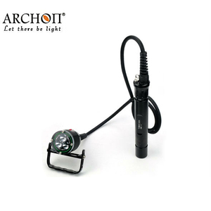 2014 Hot Sale Model 3000Lumens underwater led dive 100m diving led flashlight,dive torch WH36