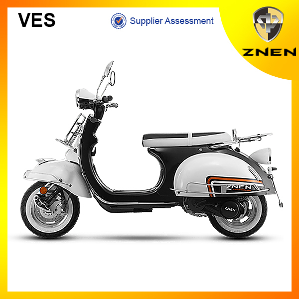 2017 znen new vespa scooter 50CC with EEC EPA DOT classic gas scooter 125CC best electric scooter